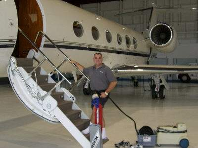 Airplane carpet cleaning Cleveland Ohio